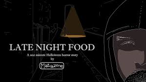 late night food one minute halloween horror story youtube