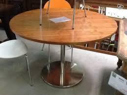 table cuisine pied central table ronde de cuisine n 100 à vendre à la flèche en sarthe