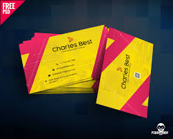 Best Business Card Creator Download Creative Business Card Free Psd Psddaddy Com