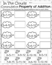 associative property of addition worksheet 3 addition properties