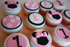 12 minnie mouse inspired edible cupcake toppers for birthdays