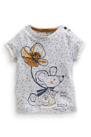 grey star mouse t shirt 3mths 6yrs from the next uk online