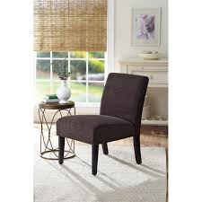 walmart living room chairs better homes and gardens accent chair solid brown walmart com