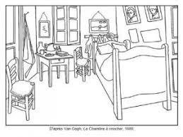 coloriage de chambre de fille best la chambre jaune vincent gogh contemporary design