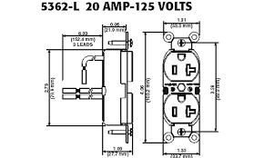 leviton 5362 lr 20 amp 125 volt nema 5 20r 2p 3w slim body