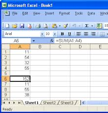 office space inserting a formula into an excel spreadsheet