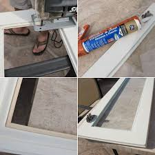 How To Hang Kitchen Cabinet Doors How To Add Glass Inserts Into Your Kitchen Cabinets