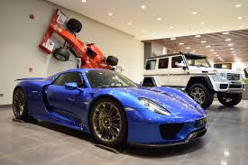 porsche hypercar glamorous blue porsche 918 spyder is our type of hypercar