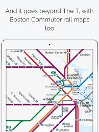 map of boston subway boston subway map the t on the app store