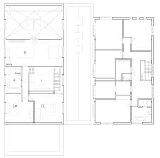 houben van mierlo architecten converts potato barns into residences ground floor plan click for larger image transformation of former potato barn by houben van mierlo