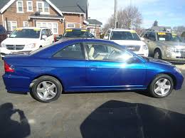 honda civic 2004 coupe 2004 honda civic ex 2dr coupe in milwaukee wi bargain town motor