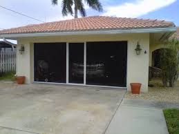 simple retractable garage door screen design simple retractable garage door screen