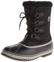sorel 1964 pac nylon mens boots black black tusk 011 men u0027s shoes