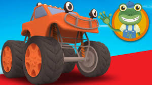 monster truck videos for kids youtube toys part learn monster truck videos for toddler shapes and race s