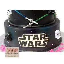 2192 2 Tier Star Wars Cake Abc Cake Shop U0026 Bakery
