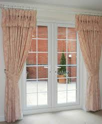 decorating curtains for french doors drapes for french doors