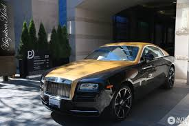 gold rolls royce rolls royce wraith 19 january 2017 autogespot