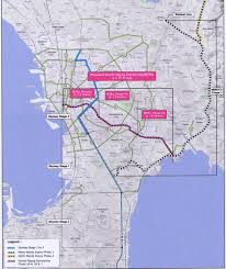 Metro Manila Map by Manila Taguig Expressway Under Evaluation By Dpwh Auto Industry News