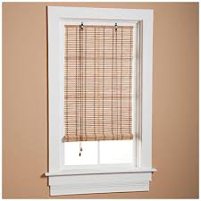 Roll Up Blinds For Windows Bamboo Roll Up Blinds At Big Lots Window Treatment Pinterest