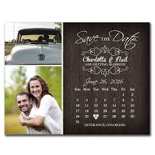 Rustic Save The Date Rustic Calendar Save The Date Postcard The Print Cafe