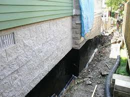 exterior waterproofing foundation medix