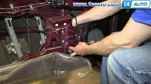 how to install replace window regulator 2000 07 chevy monte carlo