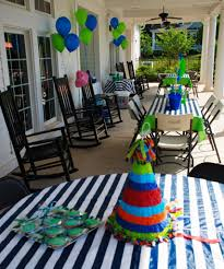 the most appropriate birthday party themes for year old boys
