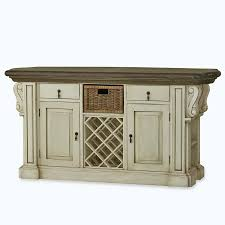 charleston kitchen island w corbels and basket