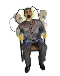 halloween decorations for haunted house electrocuted prisoner we have the horizontal version of this