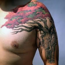 tree tattoos shoulder black simple tree tattoo on shoulder