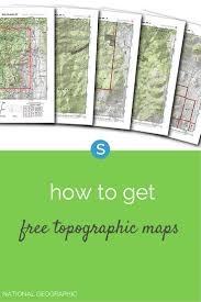 How To Read A Topographic Map 82 Best Travel Images On Pinterest Chicken Recipes Crockpot
