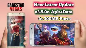 gangstar vegas original apk new update gangstar vegas v3 5 0 apk data in 300mb