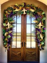 mardi gras door decorations jj louviere designs outstanding work 3 mardi gras door