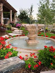 Fountains For Backyard by Fountain Landscapes Houzz