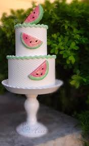 Watermelon Cake Decorating Ideas Best 25 Watermelon Birthday Cakes Ideas On Pinterest Cute