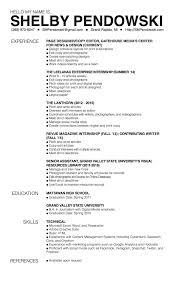 Managing Editor Resume Art Internship Cover Letter Choice Image Cover Letter Ideas