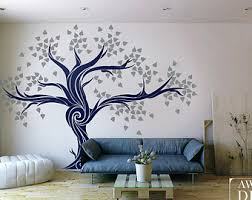 living room wall stickers tree wall decals cool wall stickers for living room wall art and