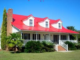 red roof red shutters red door white house pinterest red