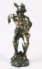 greek gods statues amazon com bronze greek olympian god hermes statue home kitchen