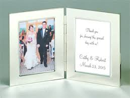 picture frame wedding favors folding silver frame place card frames place card