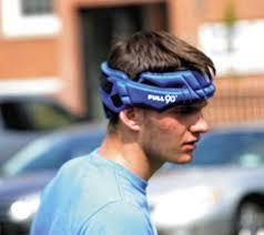 soccer headbands heads up play news sports leader herald