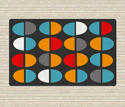 Colorful Modern Rugs Modern Rug Area Rugs With Colorful Shapes 5x8 Rug Affordable