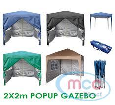 premier 2x2m pop up gazebo waterproof coating layer marquee canopy