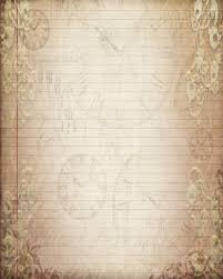brown writing paper printable journal page vintage filigree lined digital stationery this is a digital file
