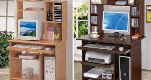Small Desk With Hutch Altra Furniture Amelia Desk With Hutch In White Traditional Small