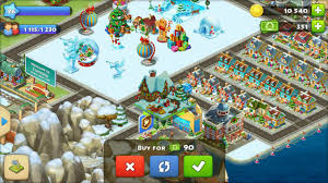 we got all christmas decoration township andriod game
