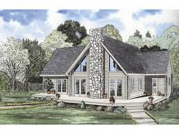 yukon bay rustic cabin home plan 073d 0012 house plans and more