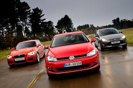volkswagen bmw new vw golf vs rivals auto express