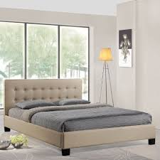 beige contemporary button tufted queen bed frame queen bed frames