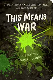 amazon com this means war a strategic prayer journal